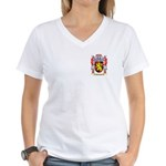 Mathivon Women's V-Neck T-Shirt
