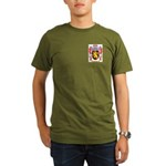 Mathivet Organic Men's T-Shirt (dark)