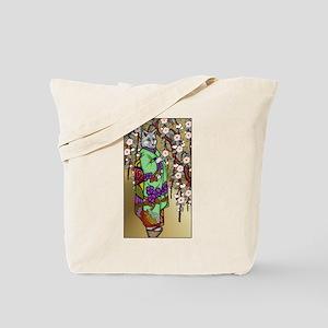 The Fox Maiden (Kitsune) Tote Bag