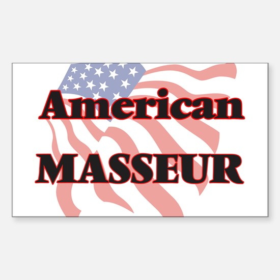 American Masseur Decal