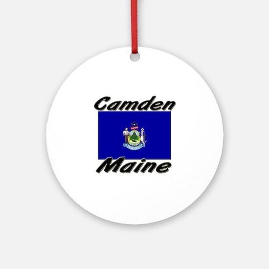 Camden Maine Ornament (Round)