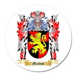 Mathiot Round Car Magnet