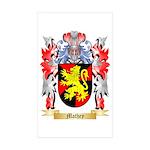 Mathey Sticker (Rectangle 50 pk)