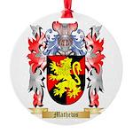 Mathews Round Ornament