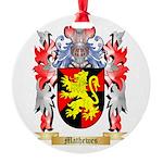 Mathewes Round Ornament