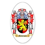 Mathewes Sticker (Oval)
