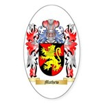 Mathew Sticker (Oval 50 pk)