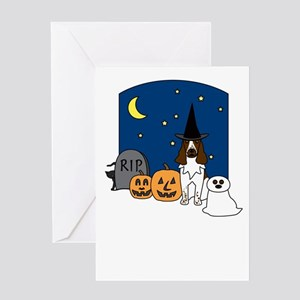 Eng. Springer Halloween Greeting Card