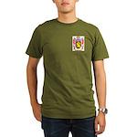 Mathevet Organic Men's T-Shirt (dark)
