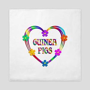 Guinea Pig Heart Queen Duvet
