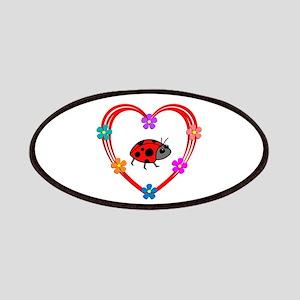 Ladybug Heart Patch