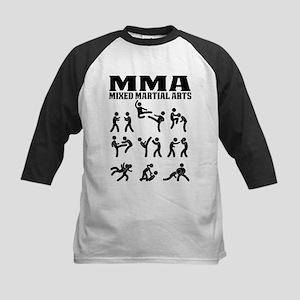 MMA Mixed Martial Arts Baseball Jersey