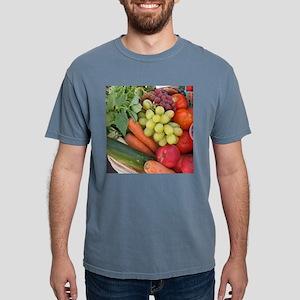 a nice produce basket at a farmer's marke T-Shirt