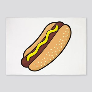Hotdog 5'x7'Area Rug