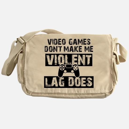 Video Games Messenger Bag
