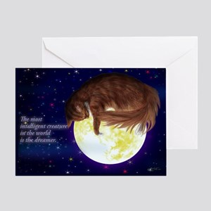 A warm greeting card to every dream lover