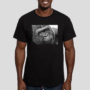 Gorilla Men's Fitted T-Shirt (dark)