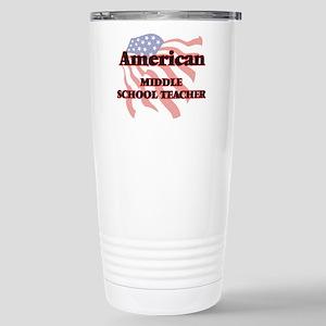American Middle School Stainless Steel Travel Mug