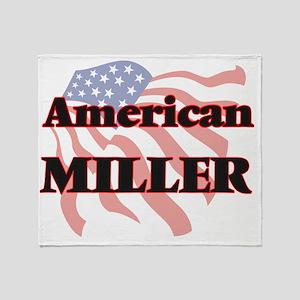 American Miller Throw Blanket