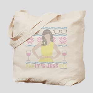 New Girl Ugly Christmas Sweater Light Tote Bag