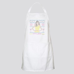 New Girl Ugly Christmas Sweater Light Apron