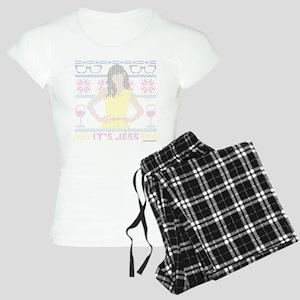 New Girl Ugly Christmas Swe Women's Light Pajamas