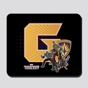 GOTG Golden G Mousepad