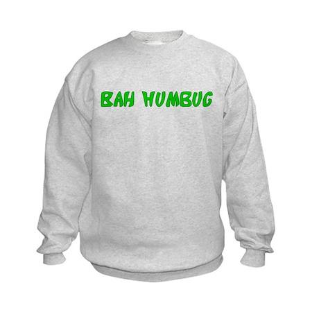 Bah Humbug Kids Sweatshirt