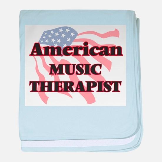 American Music Therapist baby blanket
