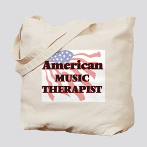 American Music Therapist Tote Bag