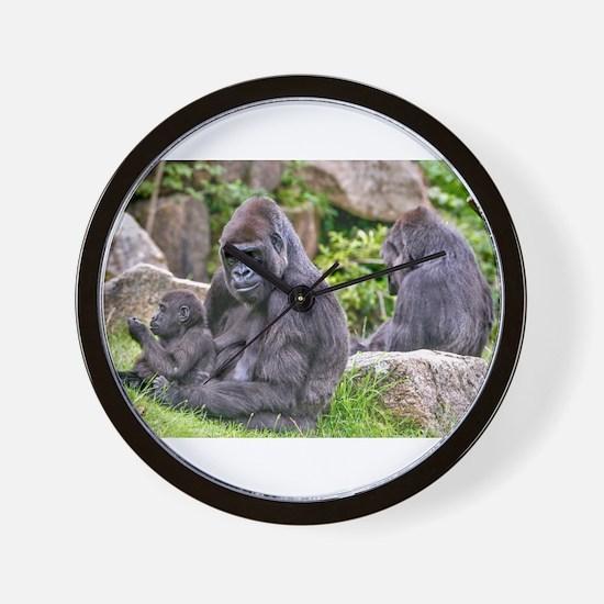 Cute Gorilla Wall Clock