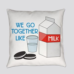 We Go Together Everyday Pillow