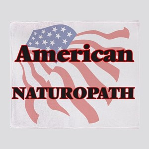 American Naturopath Throw Blanket