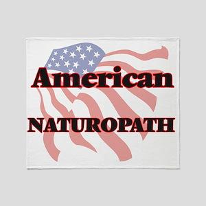 American Naturopath Throw Blanket