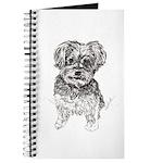 """Yorkshire Terrier"" by M. Nicole van Dam Journal"
