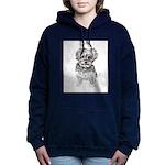 """Yorkshire Terrier"" by M Women's Hooded Sweatshirt"