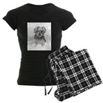 """Yorkshire Terrier"" by M. Ni Women's Dark Pajamas"
