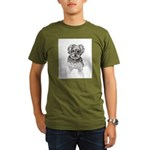 """Yorkshire Terrier"" b Organic Men's T-Shirt (dark)"