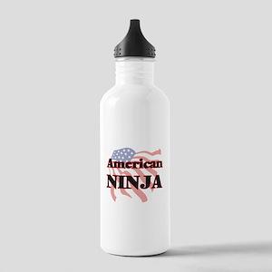 American Ninja Stainless Water Bottle 1.0L