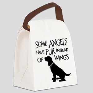 BEAGLE ANGEL Canvas Lunch Bag