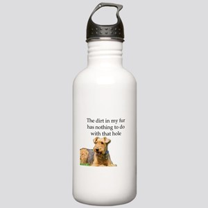 Airedale Sees no conne Stainless Water Bottle 1.0L