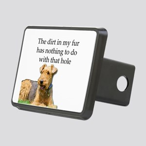 Airedale Sees no connectio Rectangular Hitch Cover