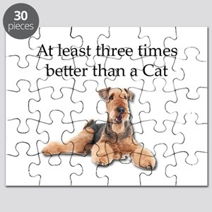Airedales Three Times Better than Cats Puzzle
