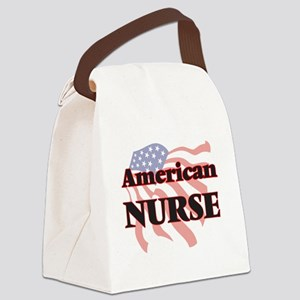 American Nurse Canvas Lunch Bag
