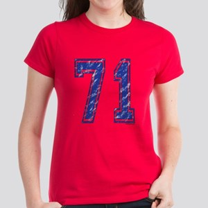 71 Jersey Year Women's Dark T-Shirt