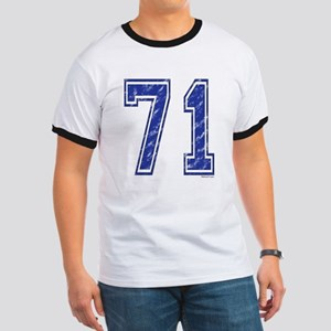 71 Jersey Year Ringer T