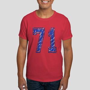 71 Jersey Year Dark T-Shirt