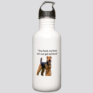 Your Food - My Food Ai Stainless Water Bottle 1.0L
