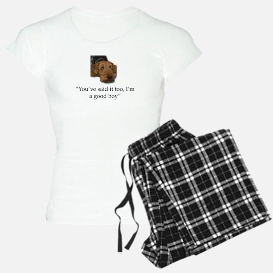 Sulking Airedale Terrier Gi Pajamas