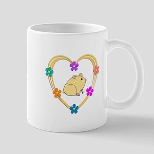 Hamster Heart Mug